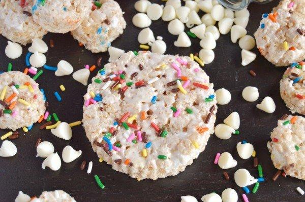 Birthday Rice Krispie Treats