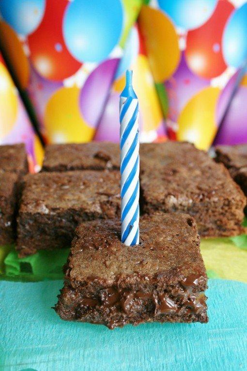 Triple Chocolate Fudgy Brownies