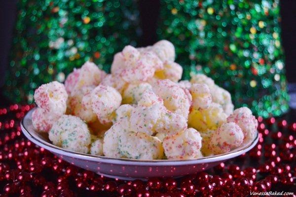 Christmas Corn Puffs