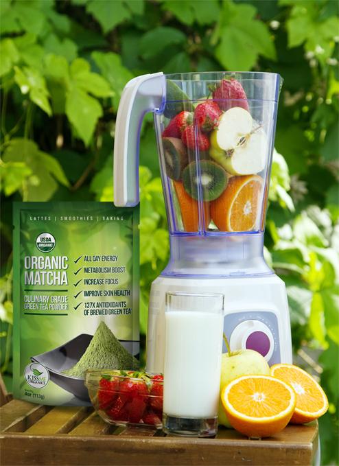 Organic Matcha - Green Tea Powder by Kiss Me Organics