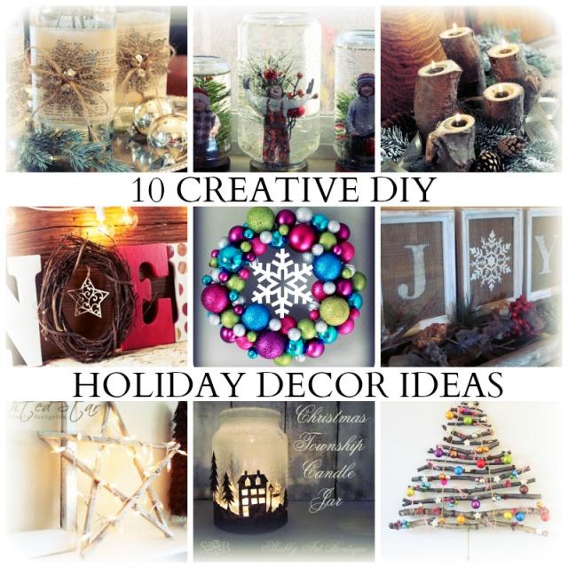 10 DIY Holiday Decor Ideas