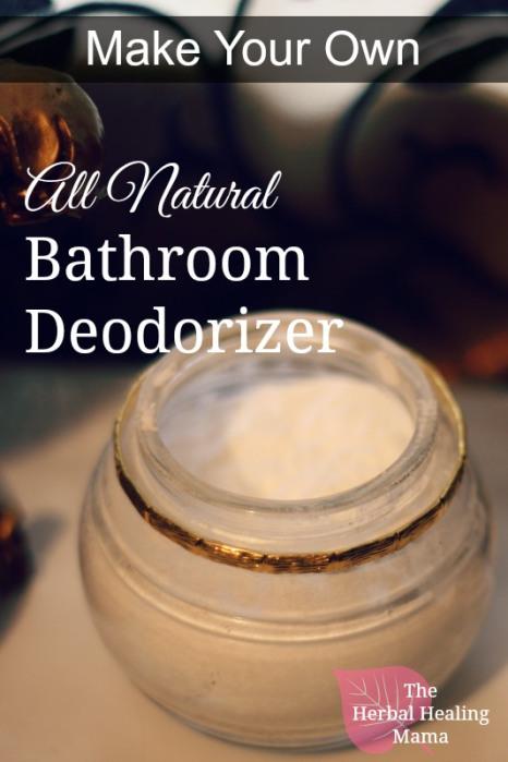 Simple yet Effective Bathroom Deodorizer + Freshener