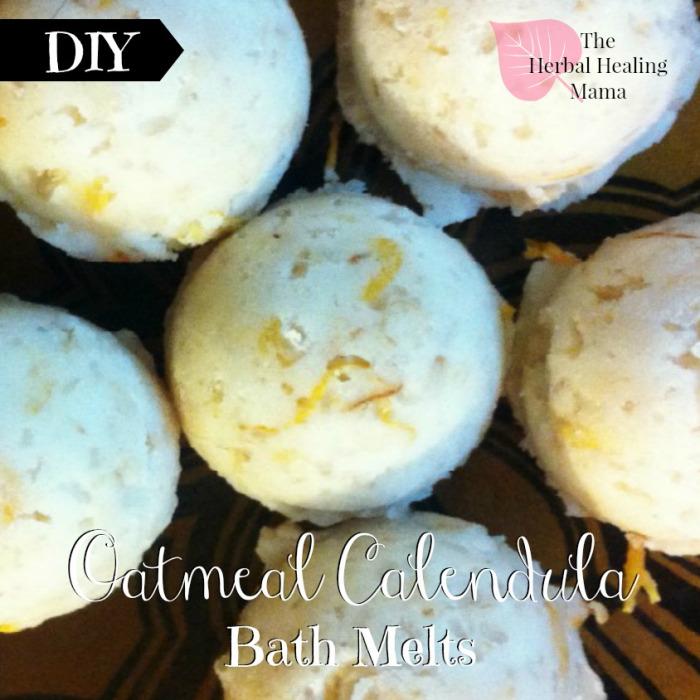 Oatmeal Bath Melts ~ DIY