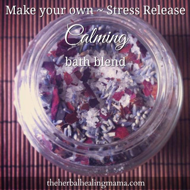 Make your own ~ Herbal Bath Blend. Calming LavenderRose