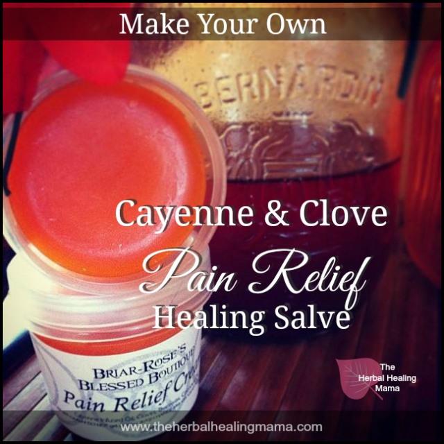 Cayenne Clove Pain Relief Healing Salve