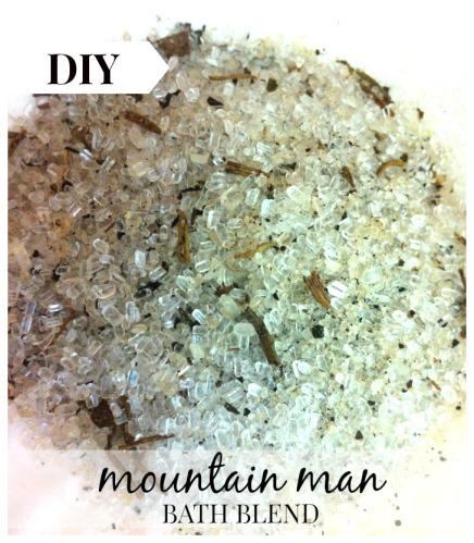 Mountain Man Bath Blend