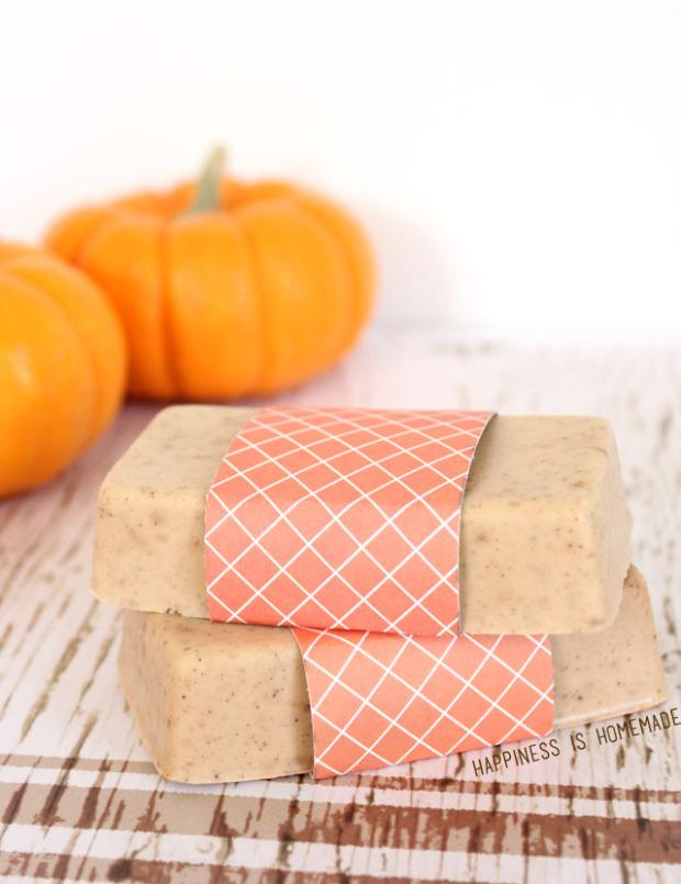 10-MINUTE GIFT IDEA: DIY PUMPKIN SPICE SOAP