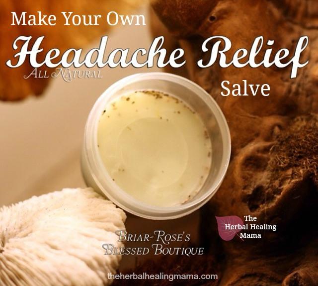 Headache Relief Salve ~ DIY All Natural Remedy
