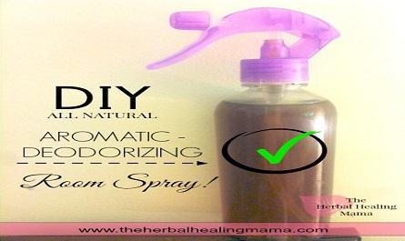 Quick & Effective DIY Room Deodorizing Spray