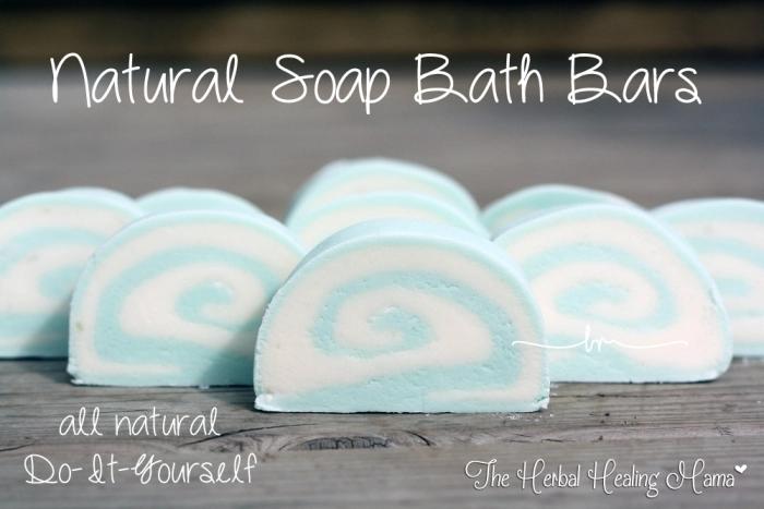Natural Soap Bath Bars – DIY
