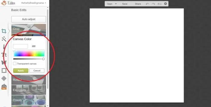 Create Labels on Picmonkey 2
