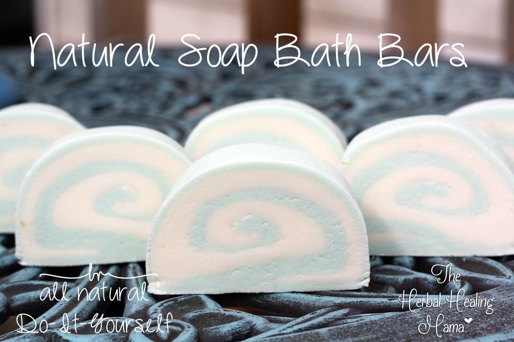 Natural Soap Bath Bars