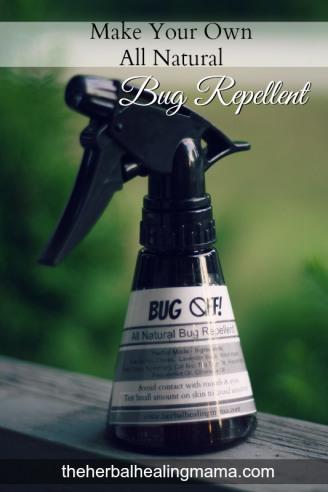 DIY – All Natural {Heavy Duty} Bug Repellent Spray