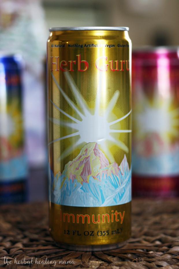 Herb Guru Brand + Mint Infused Tea Recipe