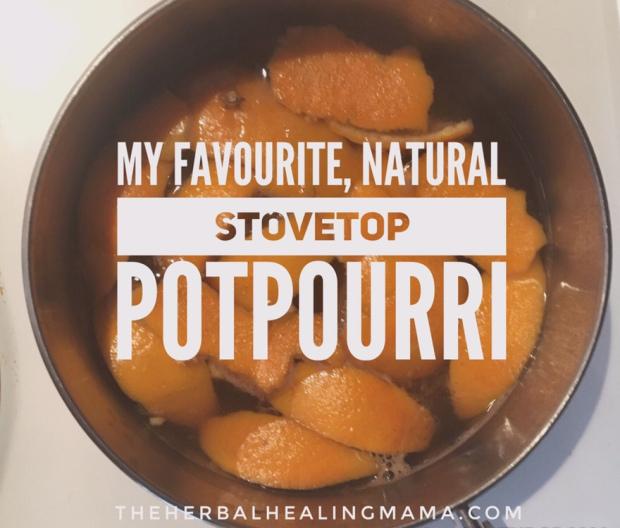 My Favourite Stovetop Potpourri