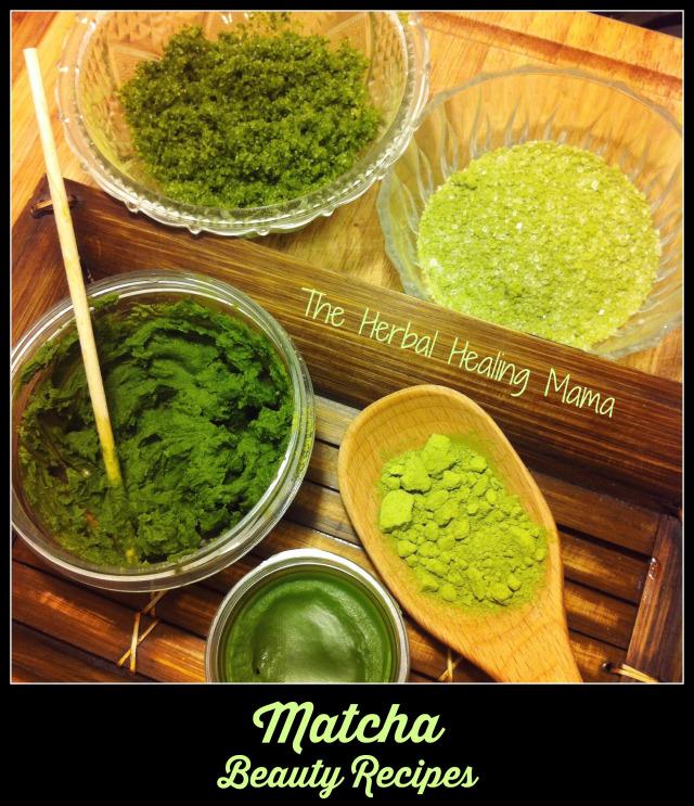 Matcha Beauty Recipes