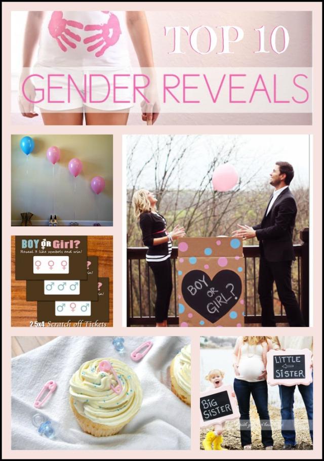 Top 10: Gender Reveal Ideas