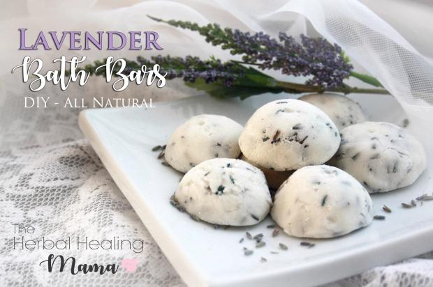 Natural Lavender Bath Bars – DIY