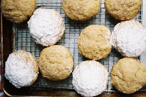Apple Butter Donut Muffins